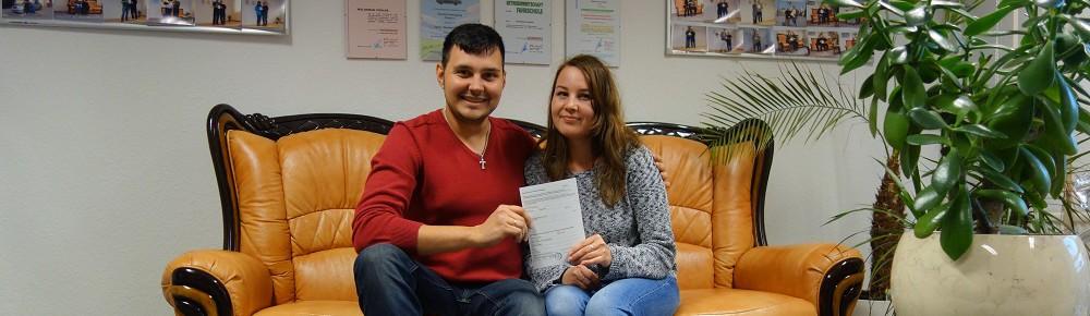 Pankow Ekaterina hat am 10.11.2015 bestanden
